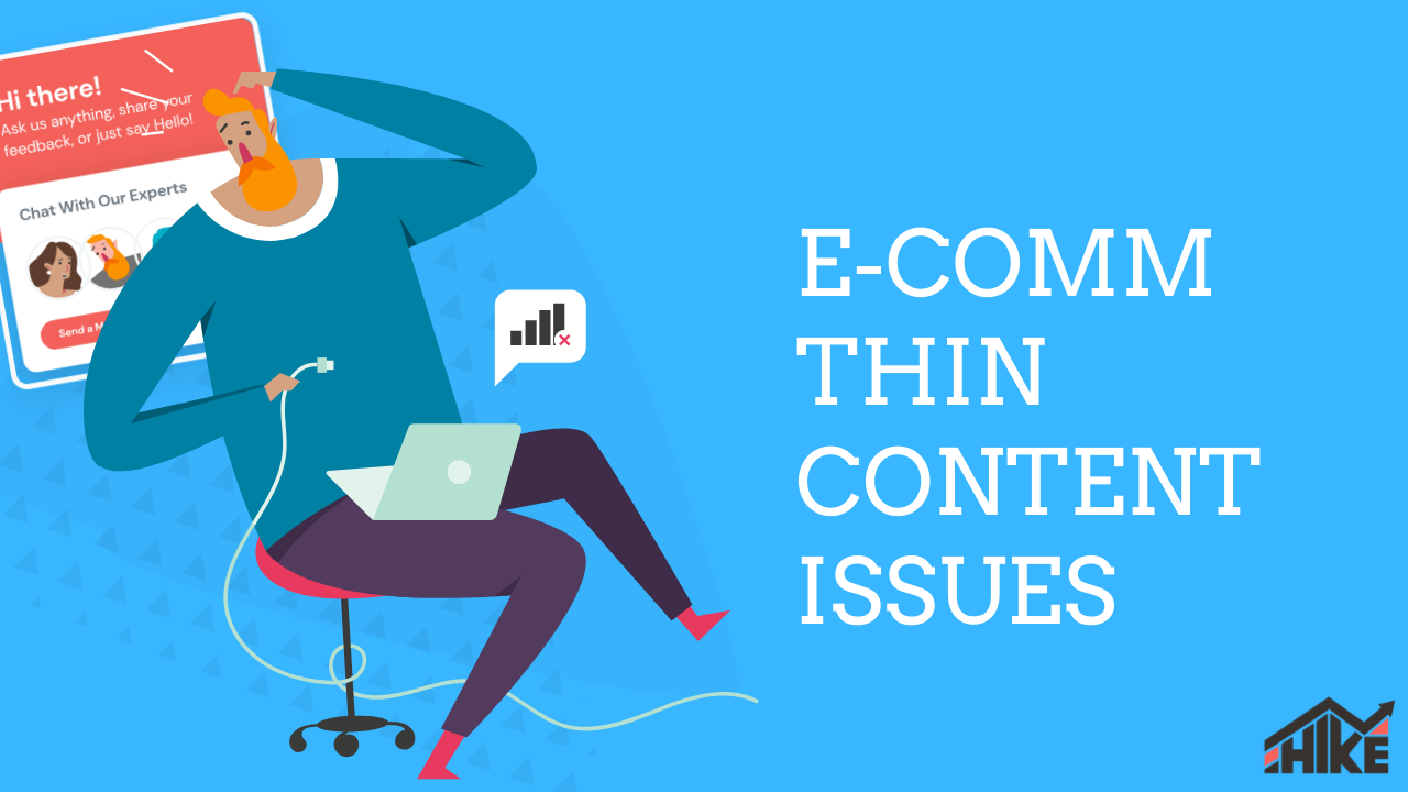 Ecomm thin content